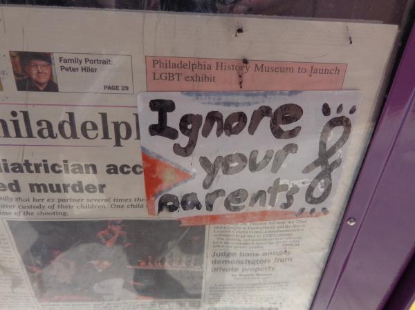 Ignore your parents