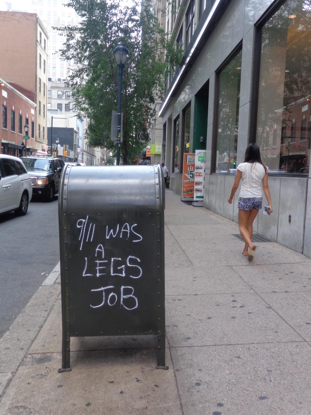 9/11 Was a Legs Job