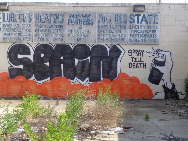 spray till death