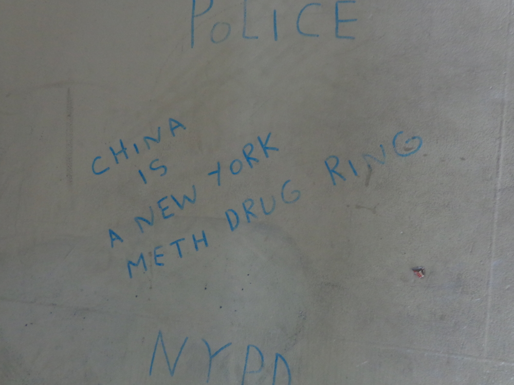 China is a New York meth drug ring