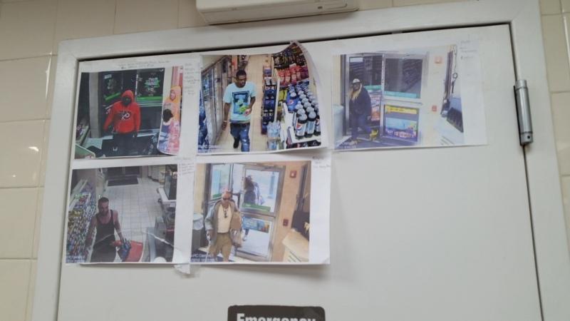 7-11 Wall of Shoplifters