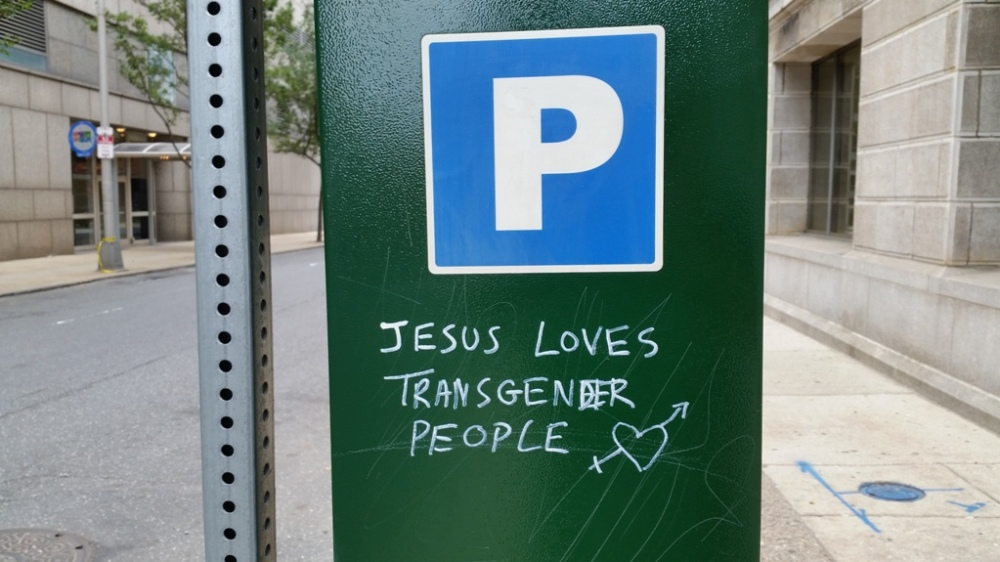 Jesus loves transgender people