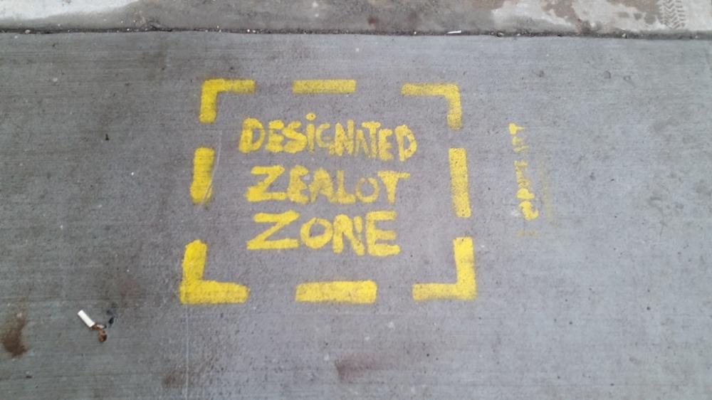 Zealot zone