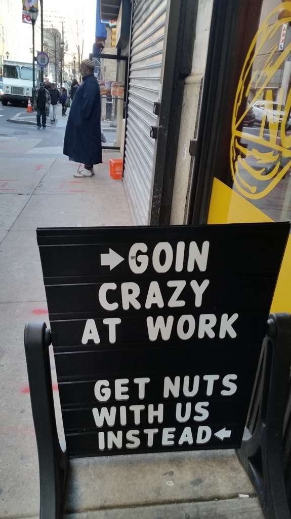 Get nuts with us