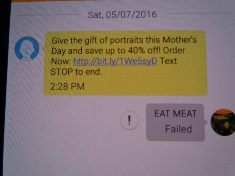 Eat meat