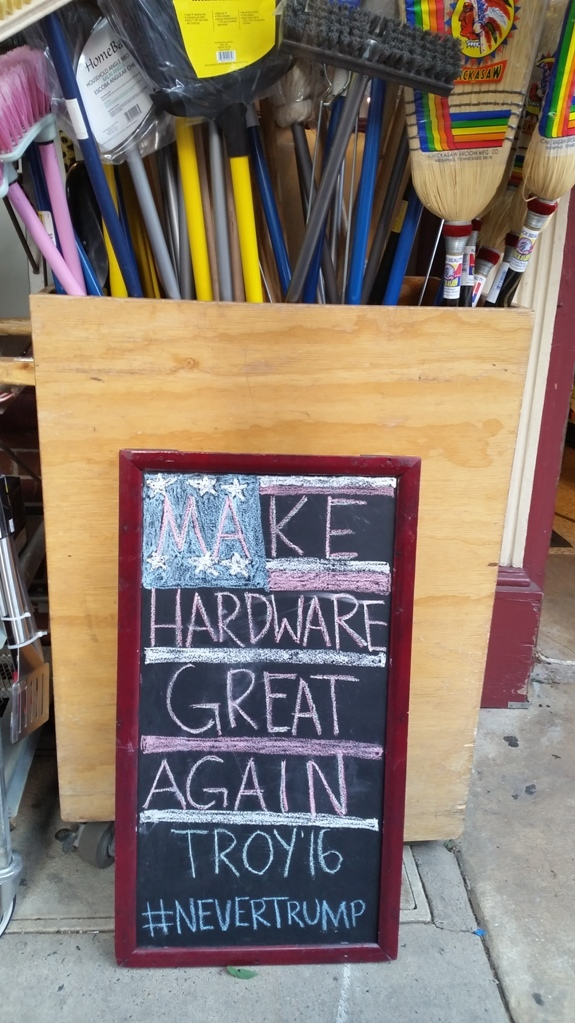 Make hardware great again