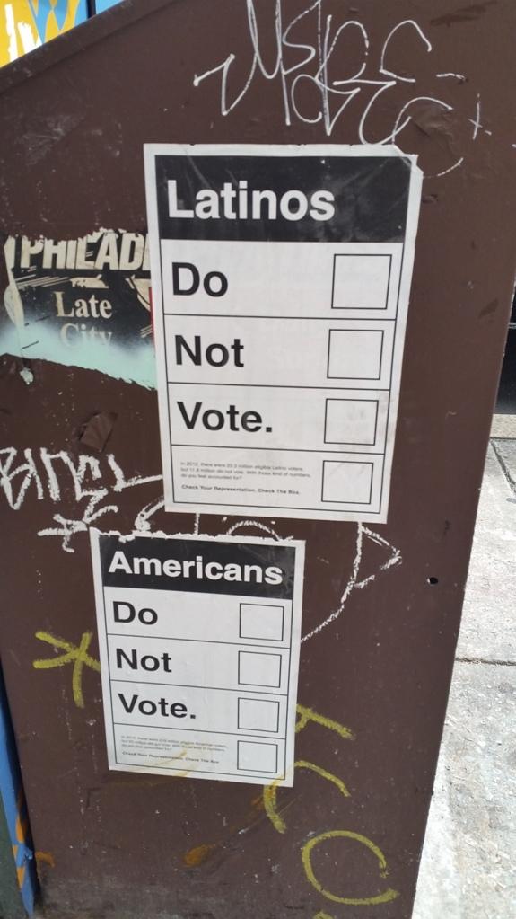 Latinos do not vote