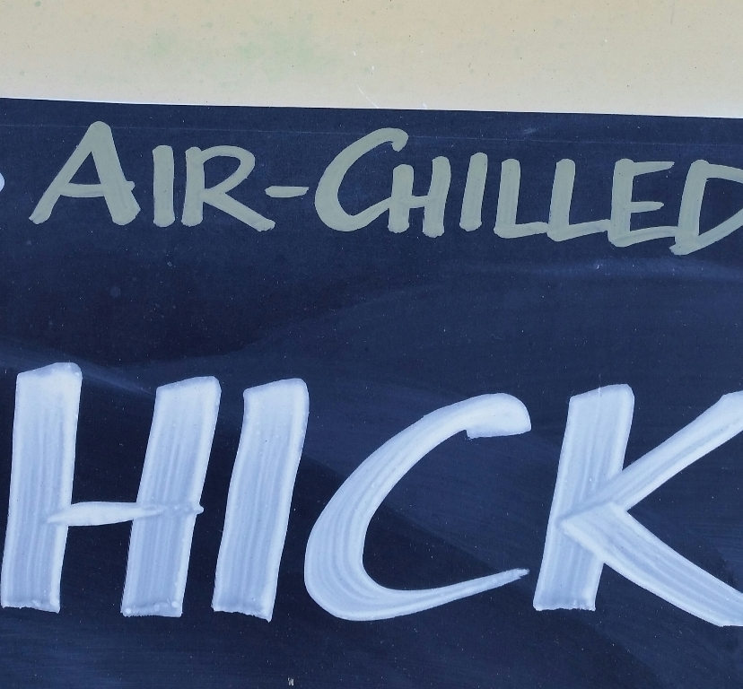 Air-chilled hick