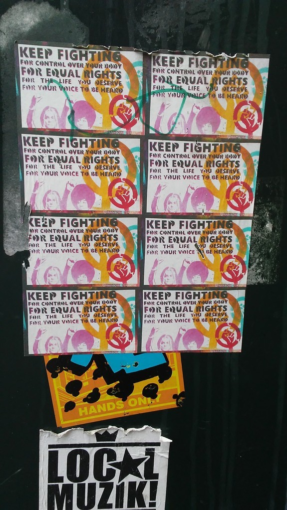 Keep fighting for equal rights