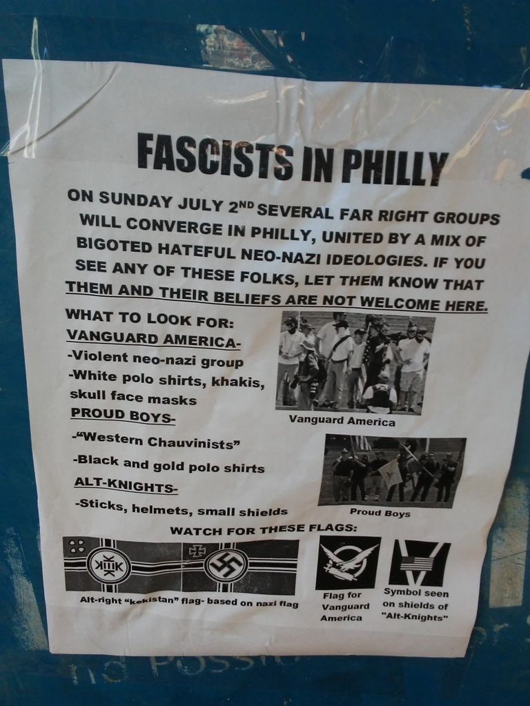 Fascists in Philly