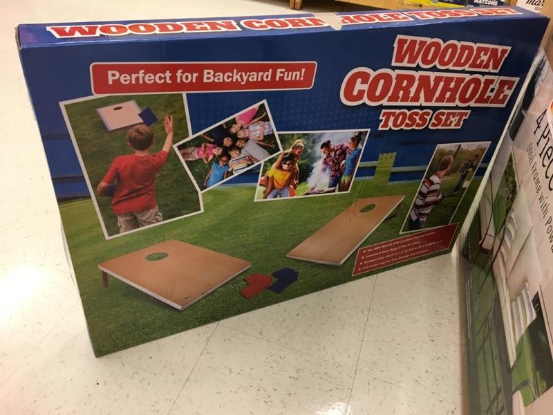 The cornhole game