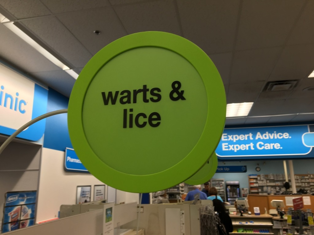 warts and lice