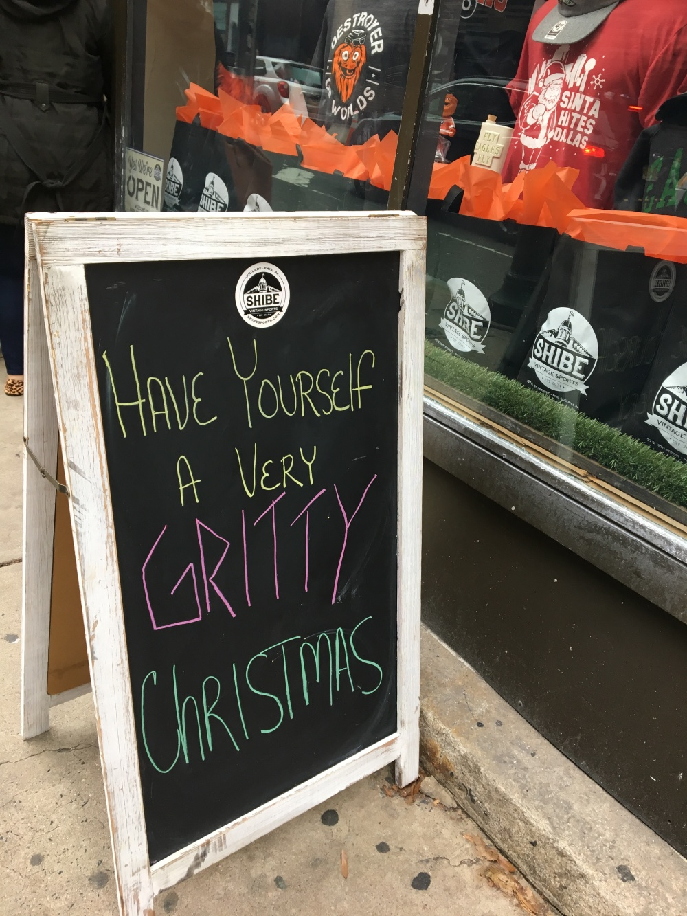 Have yourself a very Gritty Christmas