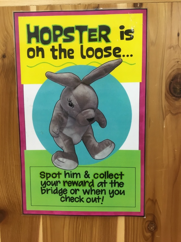 Hopster is on the loose