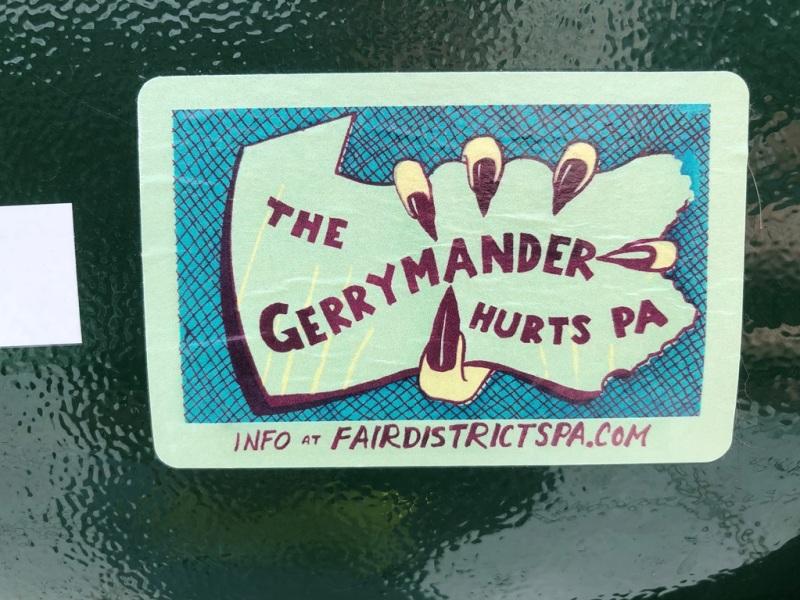 The gerrymander hurts PA