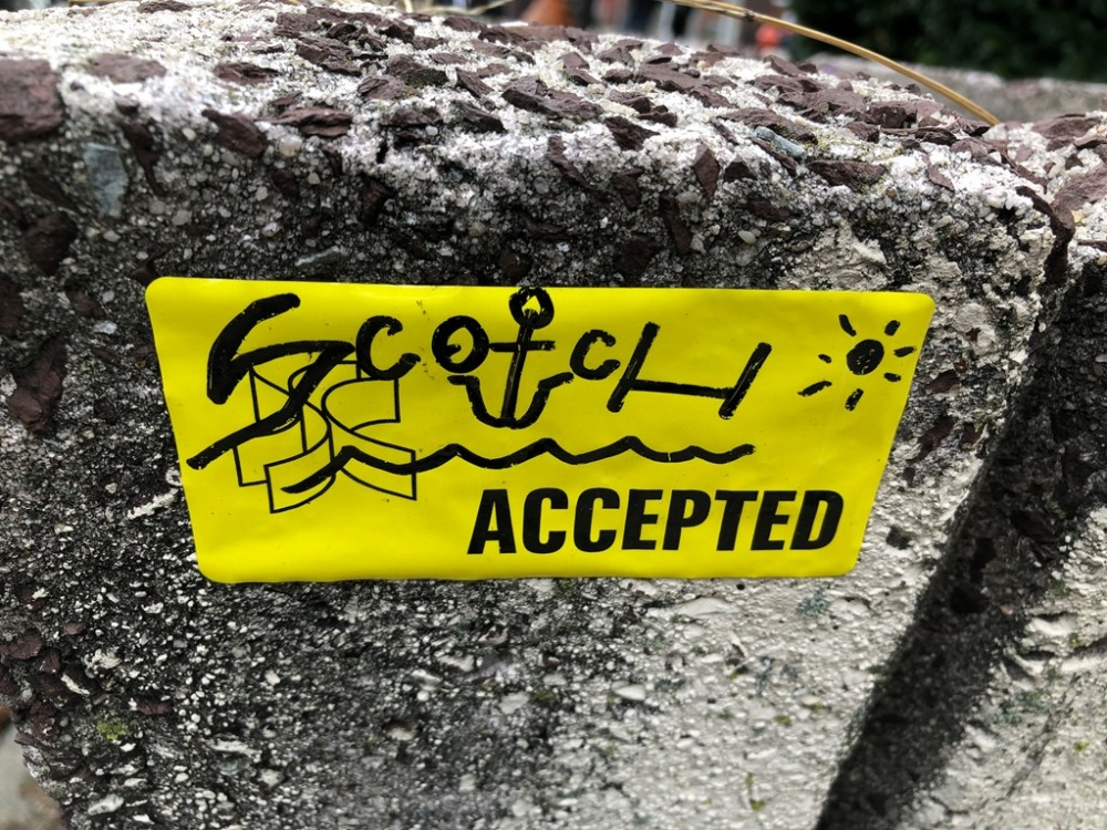 Scotch accepted