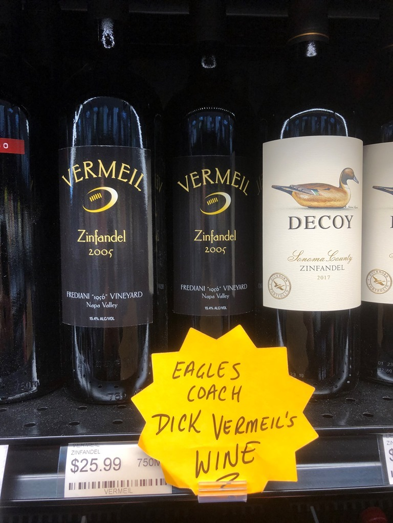 Drink a Dick Vermeil