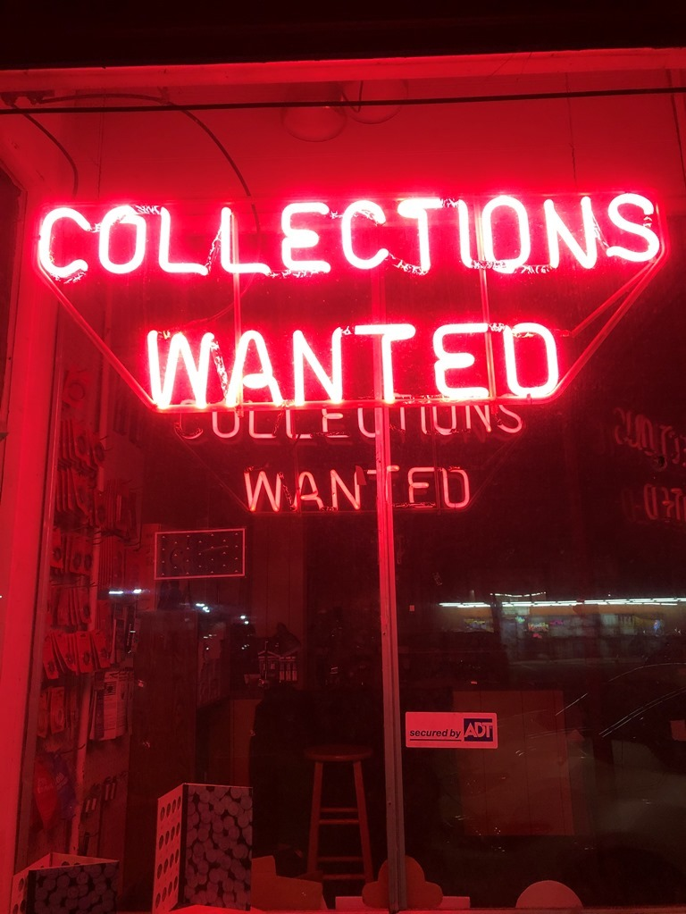 Collections Wanted
