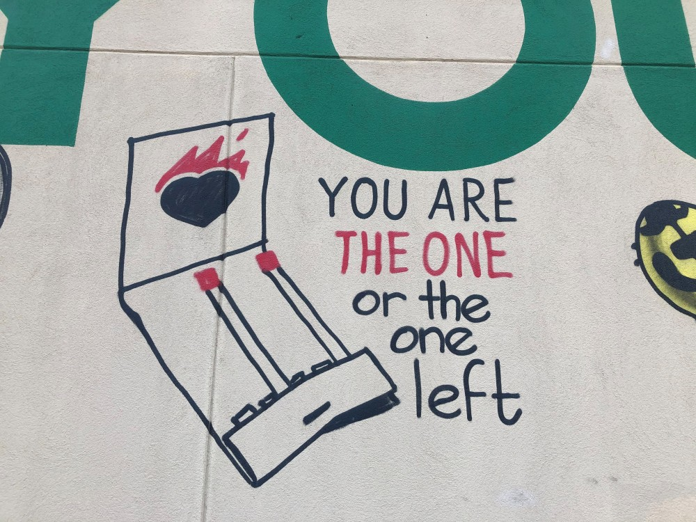 The one left