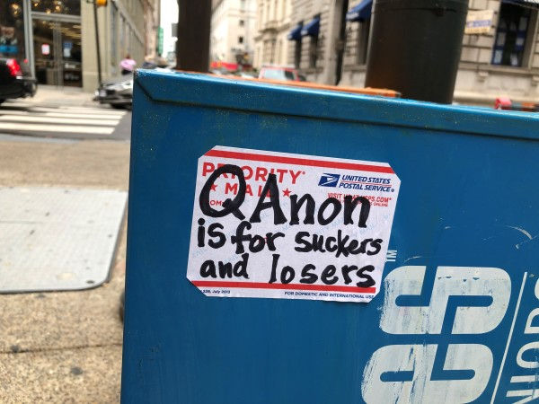 Qanon is for suckers and losers