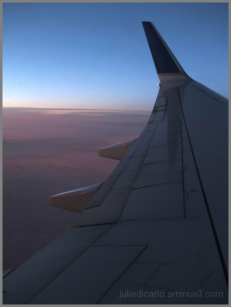 On the road again, in the sky