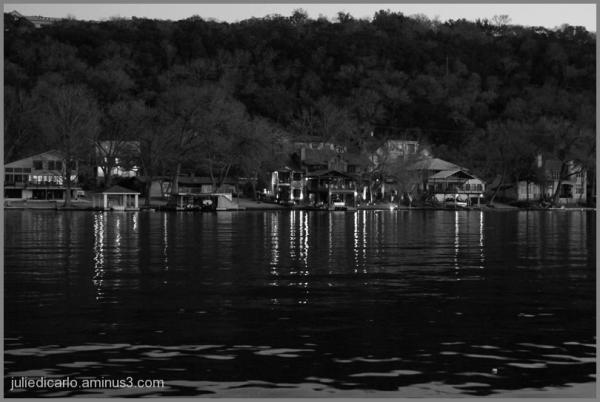 Lake Austin at dusk
