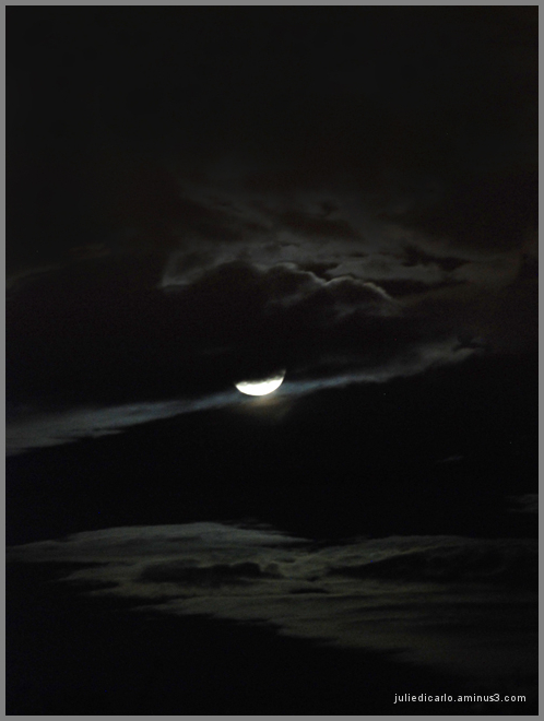 Moon and clouds #2