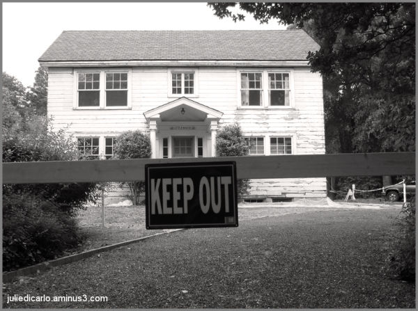 Keep out of the little house