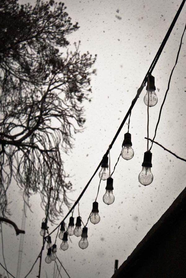 free lights...
