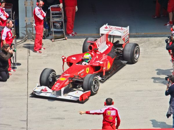 Felipe Massa Ferrari Formula One Chinese Grand