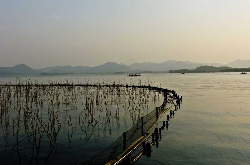 The West Lake of Hangzhou China Landscape