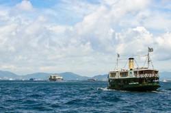 Star Ferry seen in Hong Kong
