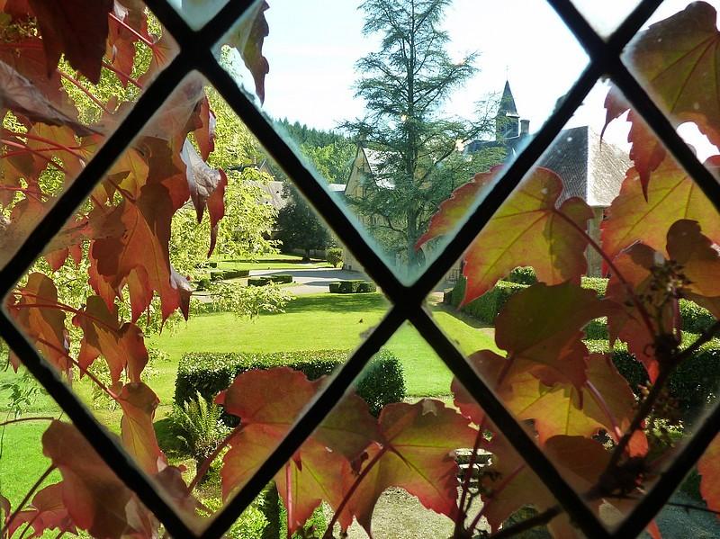 ... les jardins de l'abbaye ...