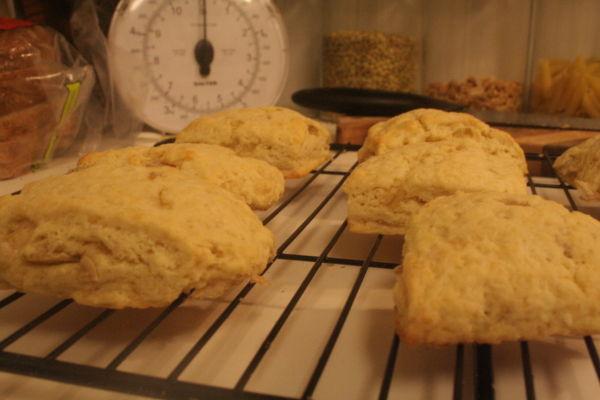 Cooling Ginger Scones (2.2.11)