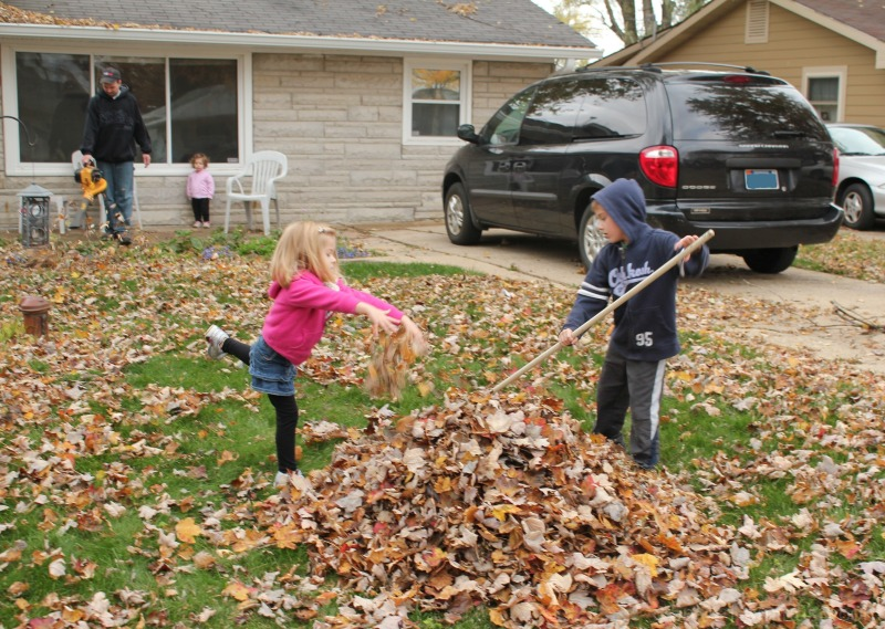 Dancing in the Leaves