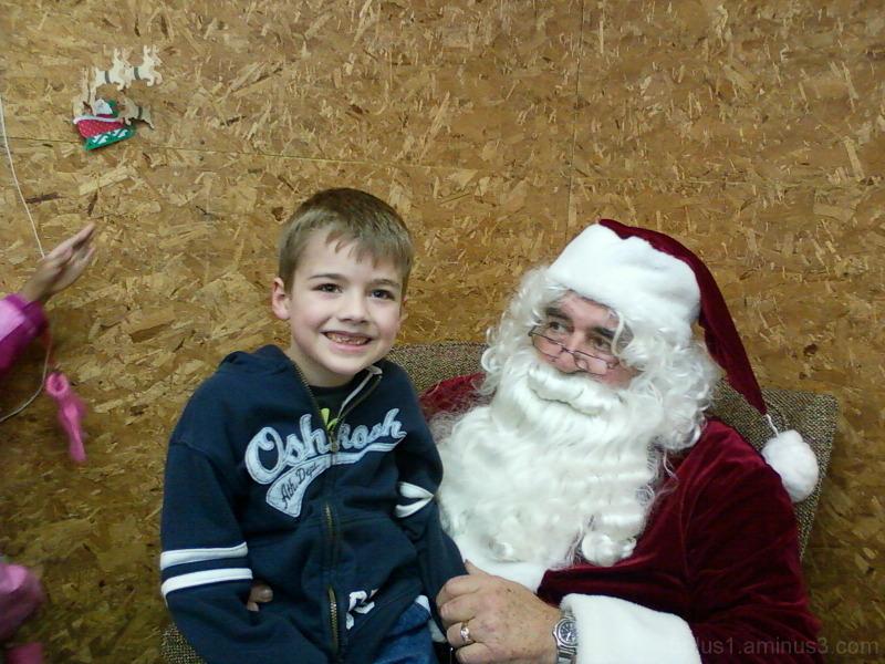 Squished Santa