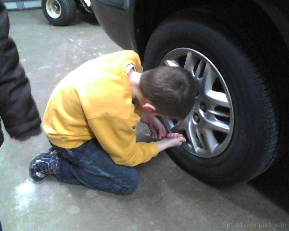 Van tire air pressure