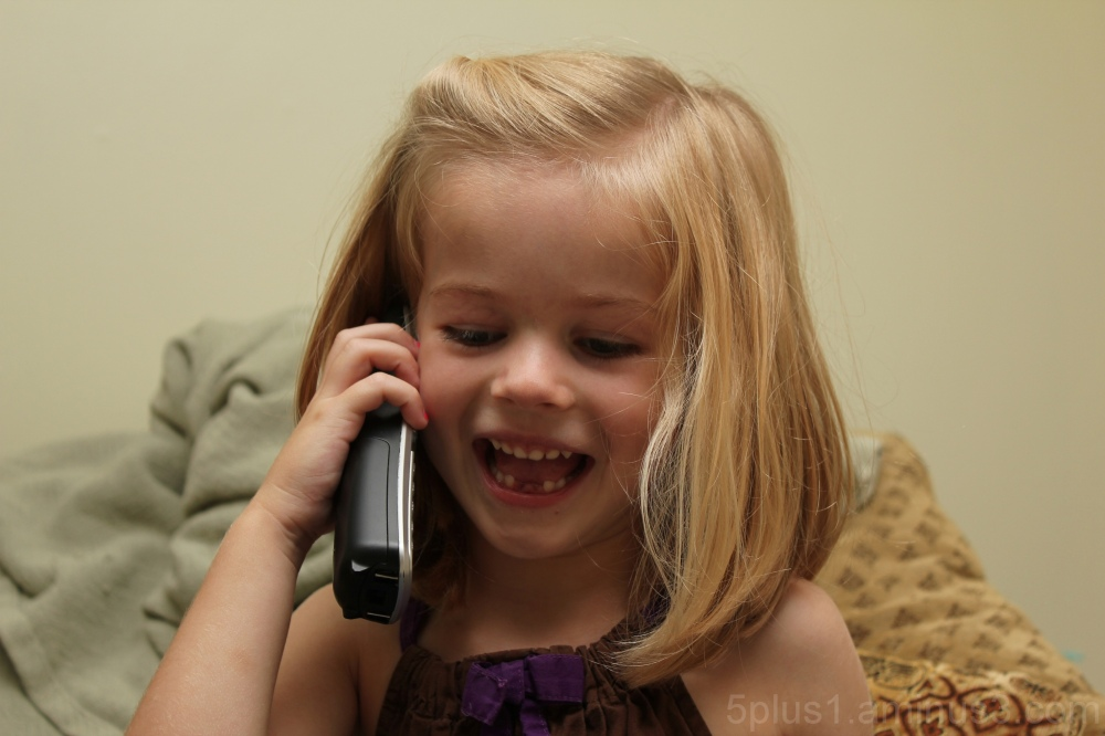 Calling Daddy