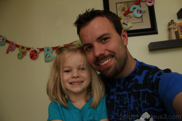 Daddy's Birthday Girl