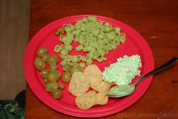 Green Food, closeup