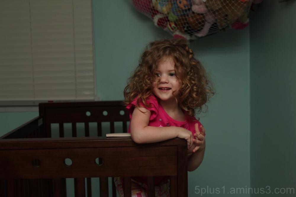 Goodbye Crib, part 3.  Or *Smiles*