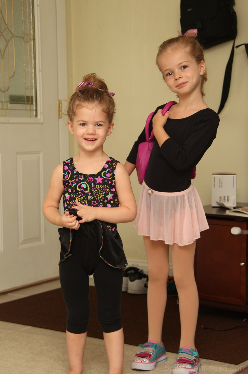 Leaving for Dance Class