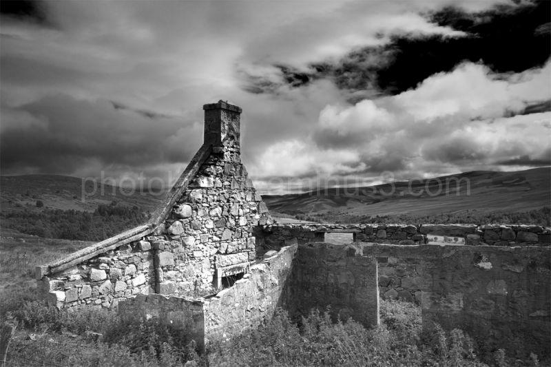 mono landscape in scotland