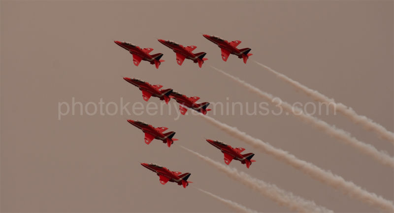 red arrows in display