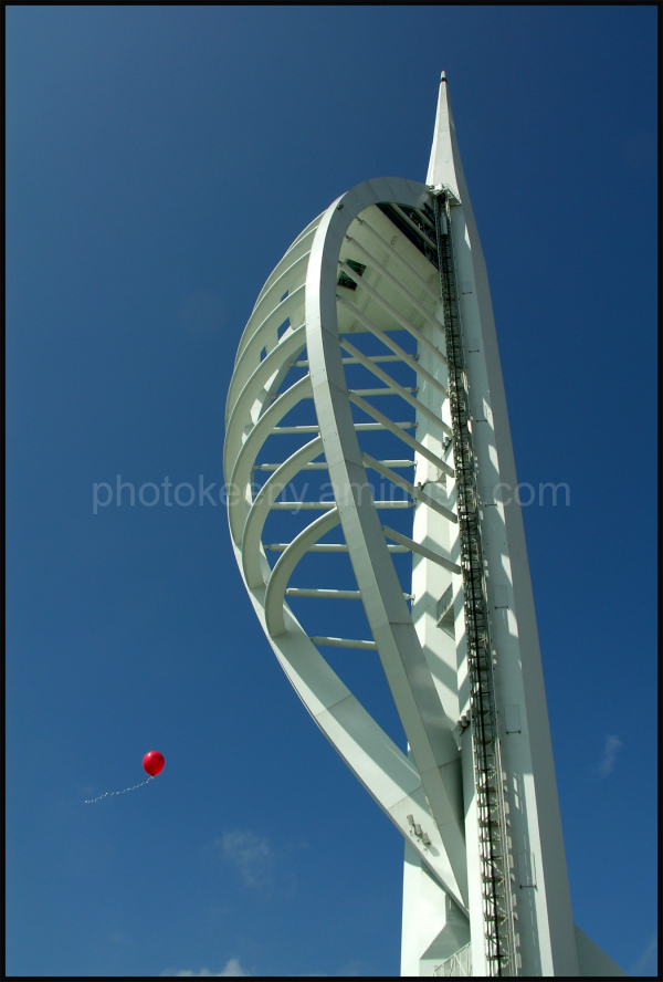 red balloon at Portsmouth spinnaker