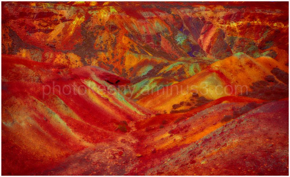 copper landscape