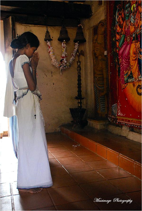 Prière d'une jeune fille