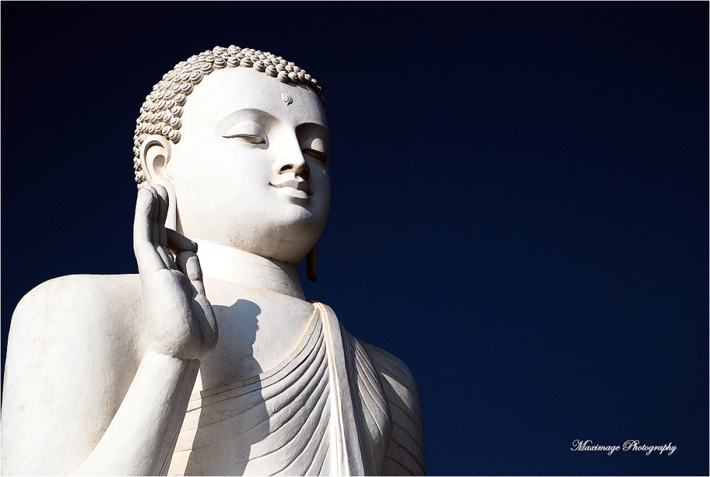 Buddha is watching you...