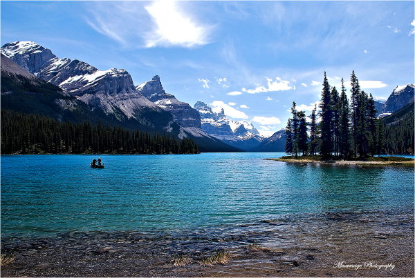 Canadian Rockies...