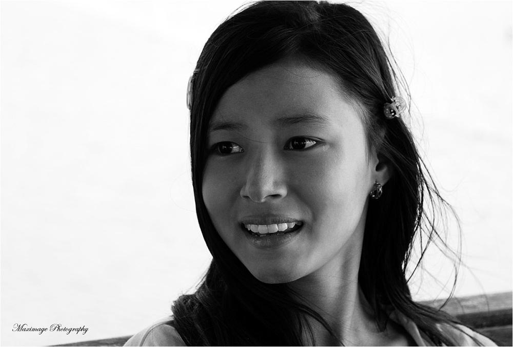 Beauté birmane...